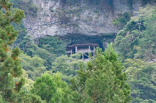 【写真】三佛寺投入堂展望台
