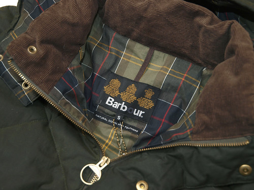Barbour / Down Wax Feather Jacket
