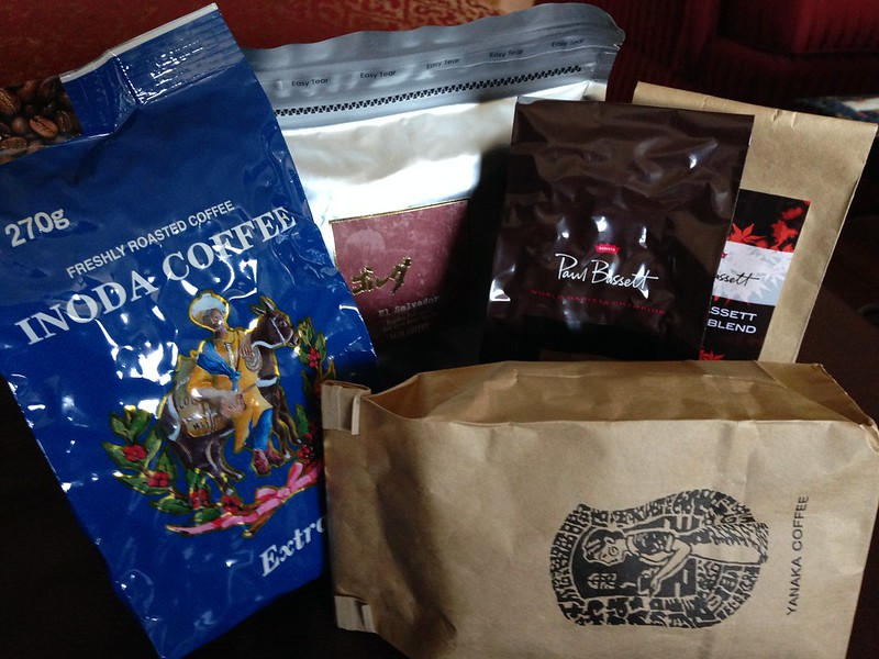 Coffee beans from Japanese roasting companies