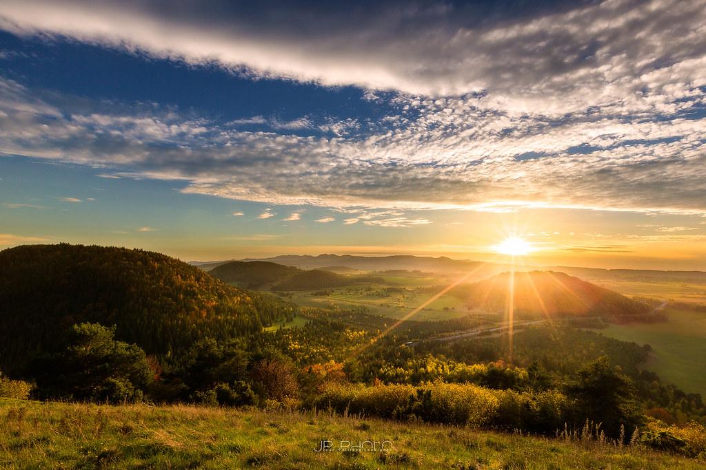 Sunset Puy de Vichatel, Auvergne