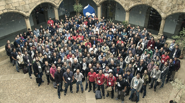 DrupalCamp foto familia