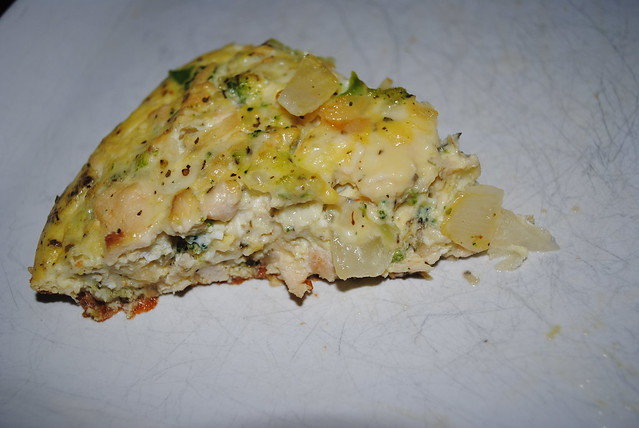 Chicken, Provolone, and Broccoli Egg Bake (3)