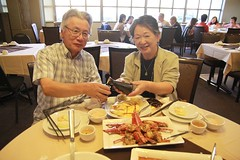 My dad\'s late birthday dinner @ Beijing Beijing