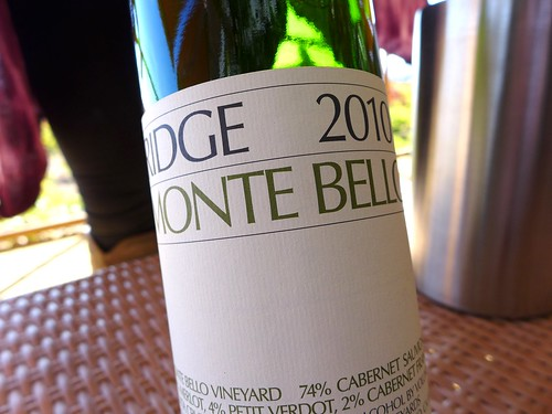2010 Ridge Vineyards Monte Bello