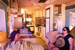 Inside the RV
