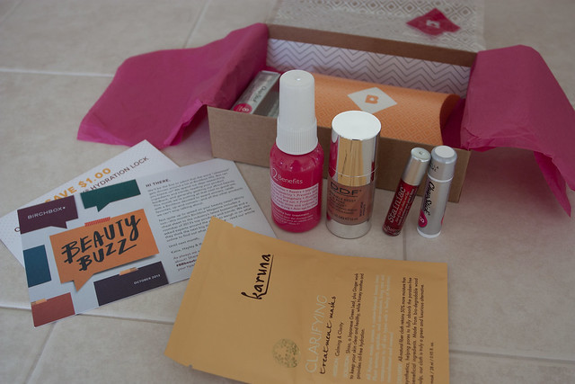 Birchbox October Box