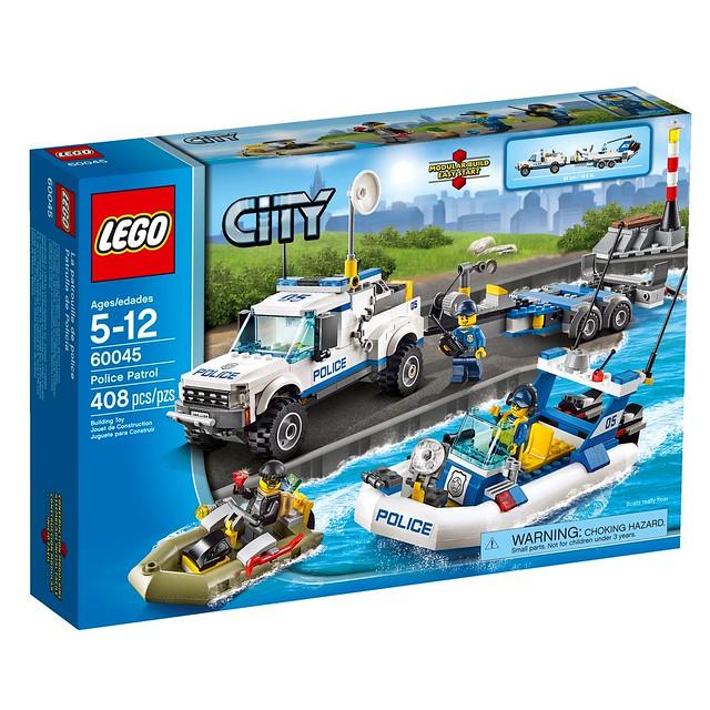 LEGO City 60045 - Police Patrol