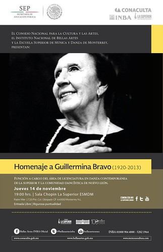 Homenajea Guillermina Bravo