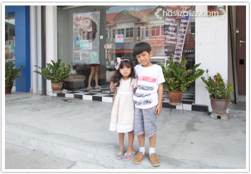 10839342755 1953e4cf7e o Potong rambut adik sara & abang Uwais