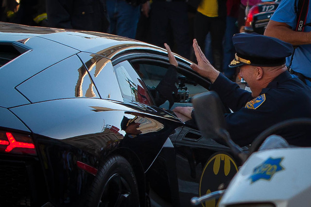 Holy High Fives, #SFBatKid !!
