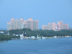Atlantis Resort on Paradise Island in the Bahamas