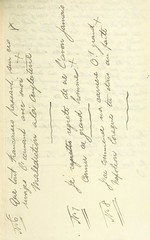 """British Library digitised image from page 69 of """"The Exhumation of the Remains of Napoleon Bonaparte. MS. notes by J. Lockwood"""""""