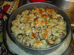 "Gratin Dauphinois (scalloped potatoes) from ""…"