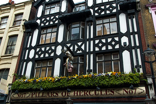 Pub Pillars of Hercules dans le quartier de Soho