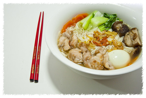 Chicken Mee Suah Soup