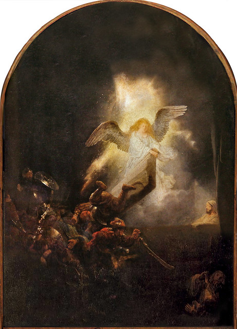 Rembrandt. The Resurrection of Christ. c. 1635-39. Oil on canvas