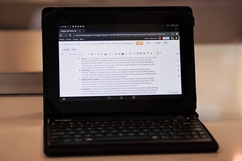 cute & little blog | Intel Asus MeMO Me302c Tablet #IntelTablets #shop #cbias