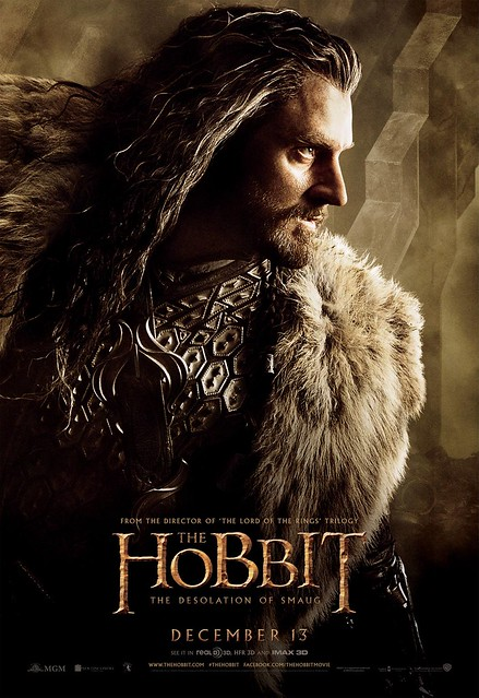 """The Hobbit: The Desolation Of Smaug"" Thorin"