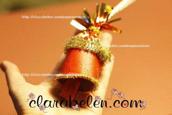 Manualidades de Navidad para niños Campana de Navidad