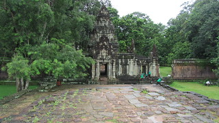 Image of Terrace of the Elephants near Siem Reap. temple cambodia siemreap angkorthom