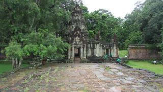 Image of  Terrace of the Elephants  near  Siem Reap. temple cambodia siemreap angkorthom