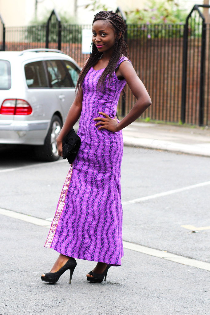 thigh-high-split-kitenge-dress, ankara gown with slit, Thigh high slit Ankara dress, Thigh high slit, Ankara print dress, wardrobe staples, slit dresses