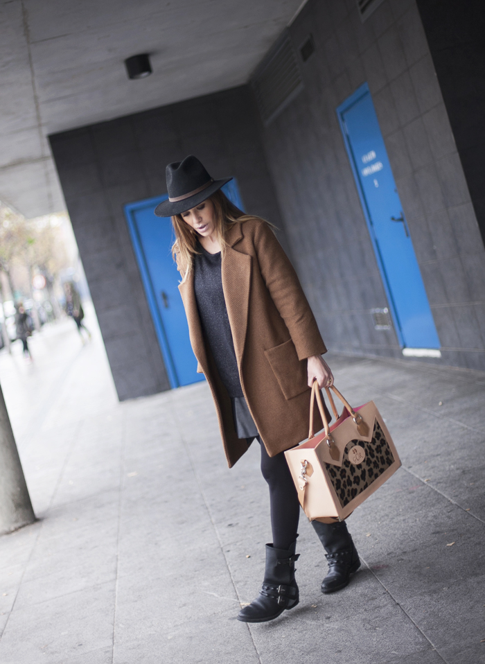 street style barbara crespo all for love GCR bag fashion blogger outfit