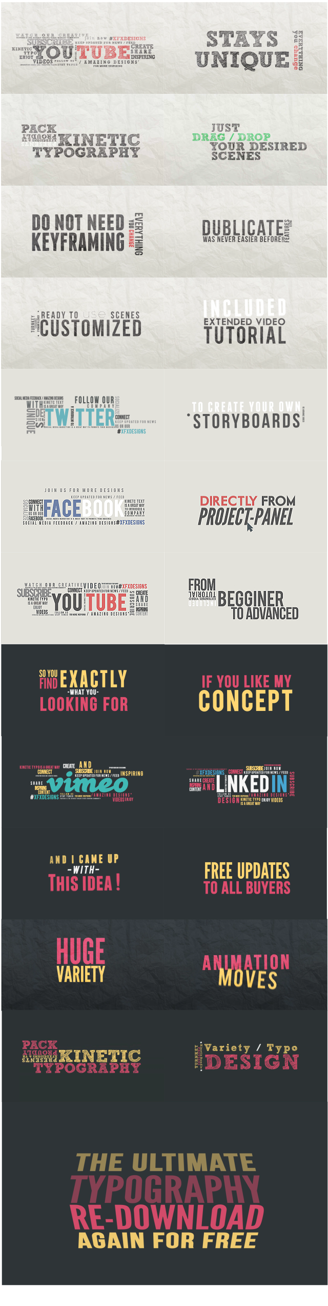 Typography  Free PowerPoint Templates