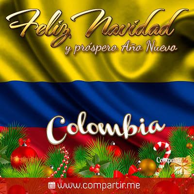 Fotos De Colombia En Navidad.Imagenes Para Compartir Postal Para Felicitar Por Navidad