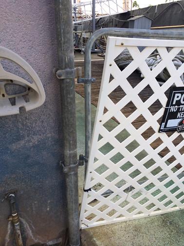 wonky gate