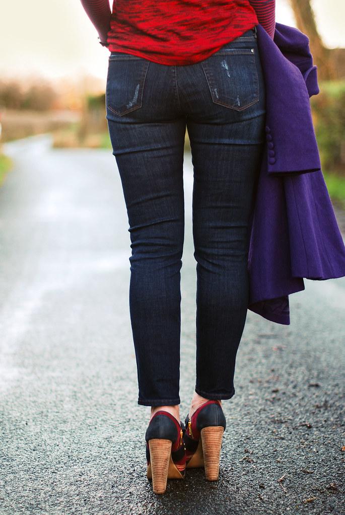 !ITEM Corset Denim jeans