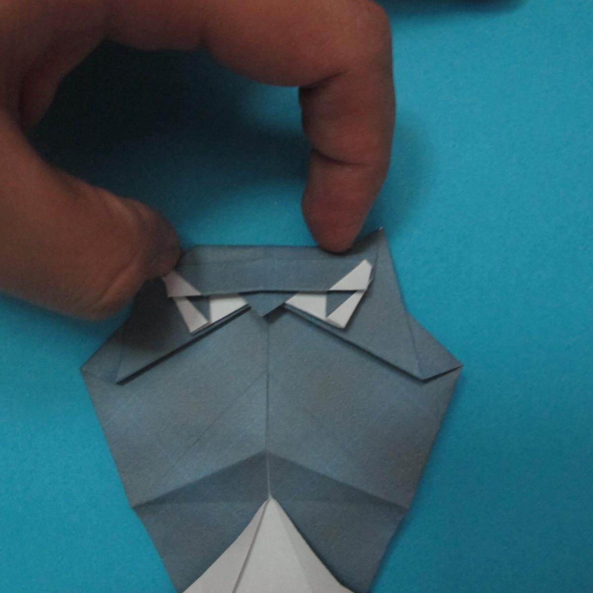 วิธีการพับกระดาษเป็นรูปนกเค้าแมว 029