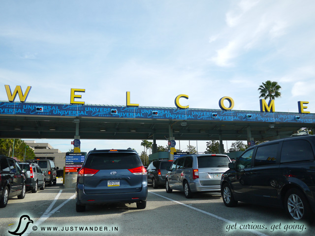 PIC: Welcome sign to Universal Studios Orlando