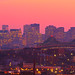 Pink Sunset over Boston Skyline and Tobin Bridge, from Everett over Chelsea MA by Greg DuBois - Sponsored by LEE Filters