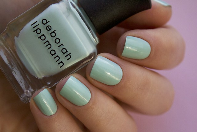 06 Deborah Lippmann Flowers In Her Hair swatches