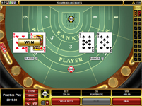 Golden Riviera casino baccarat