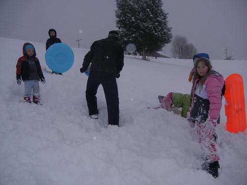 Feb 13 2014 Big Snow of winter (5)