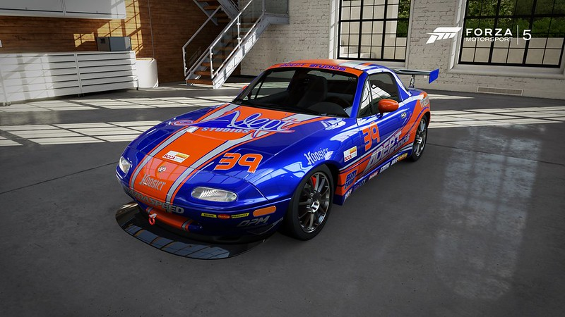 Steyn Racing mazda Miata