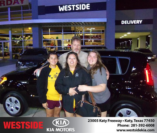 Happy Anniversary to Phillip Shelton on your 2013 #Kia #Soul from Chowdhury Rubel and everyone at Westside Kia! #Anniversary by Westside KIA