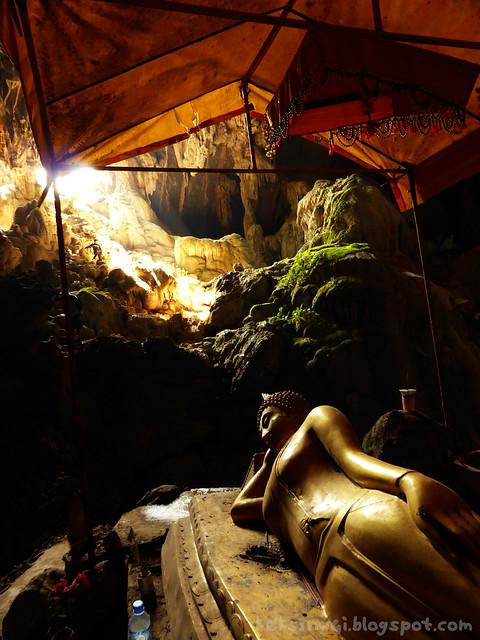 Bike Trip Tham Phu Kam Sleeping Buddha
