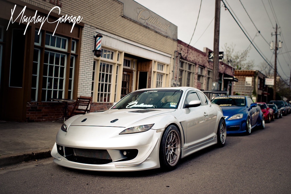 Dennis To's turbocharged RX8 before he dismantled it :(