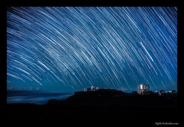 Haleakala Star Trails