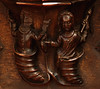 Stratford-upon-Avon, Warwickshire, Holy Trinity church, stalls, misericords, north side, #1, detail by groenling
