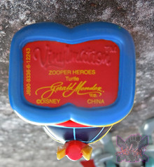 "Vinylmation ZOOPER HEROES :: 'ZIPPY THE ROCKET TURTLE' - DISNEY VINYL 3"" vii ((  2013 ))"