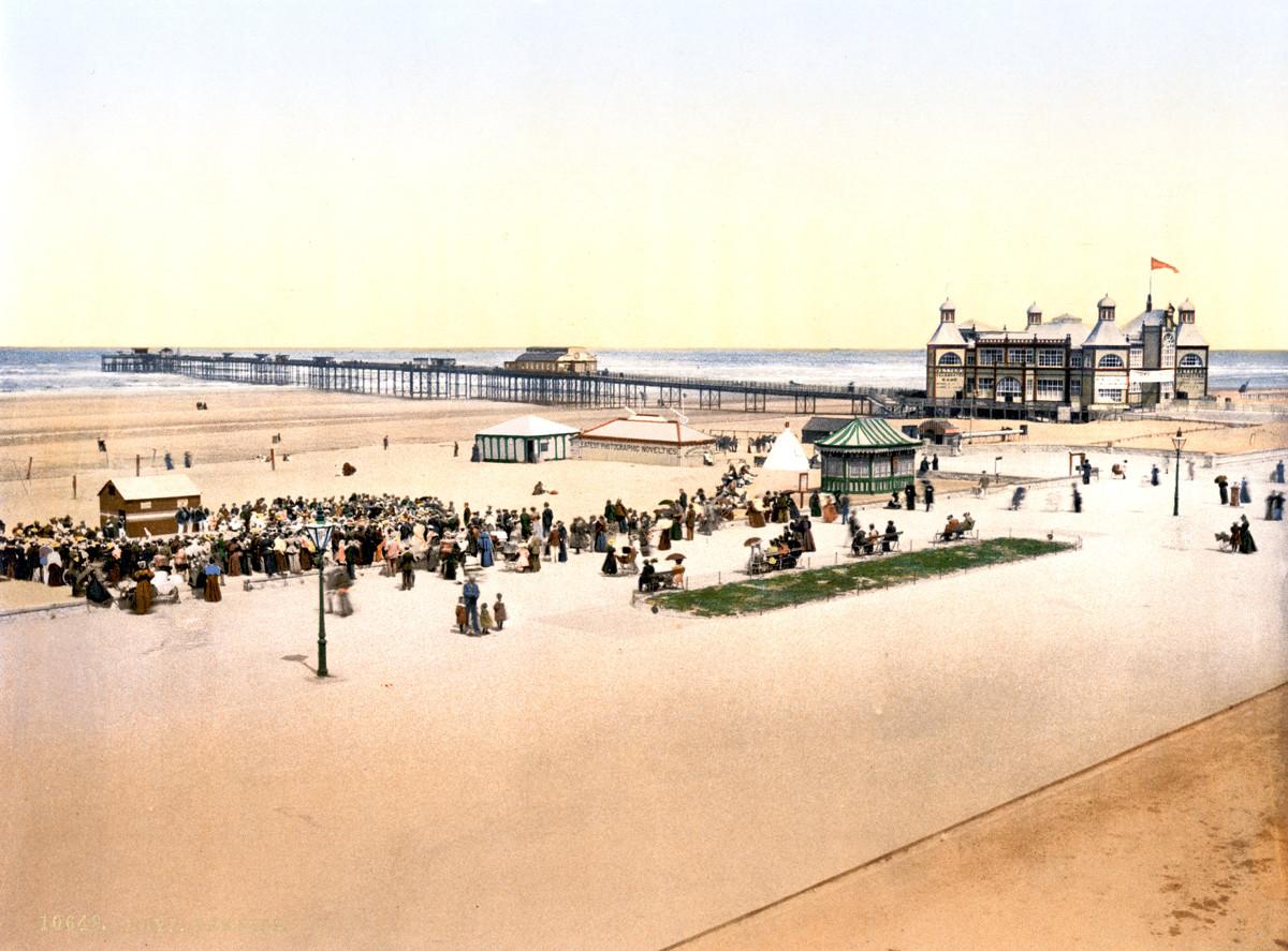 Rhyl Pier, Wales, 1895
