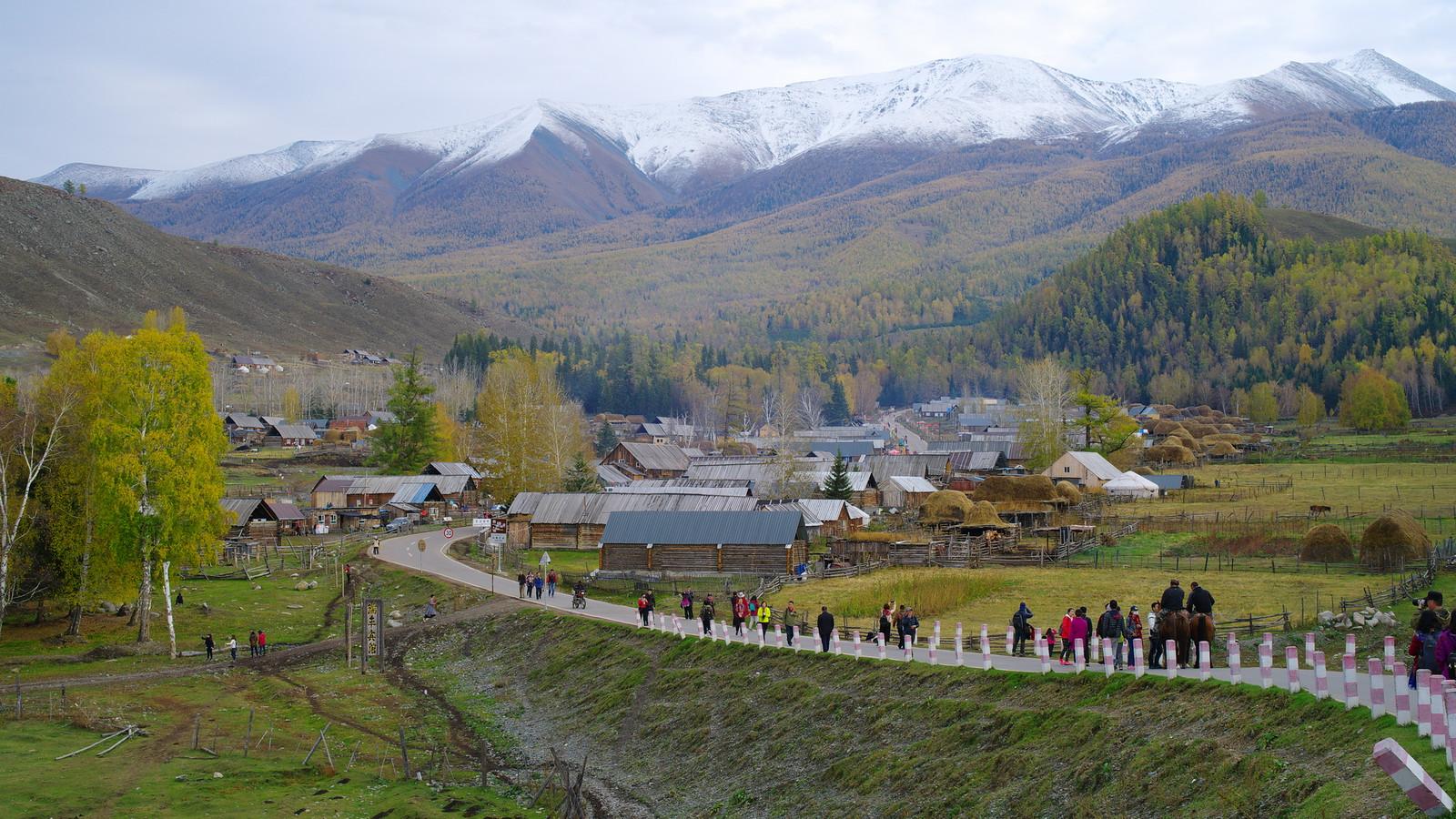 北疆之旅(魔鬼城、烏倫古湖、白哈巴、喀納斯)