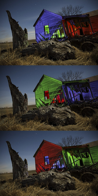 Abandoned Home Triptych III