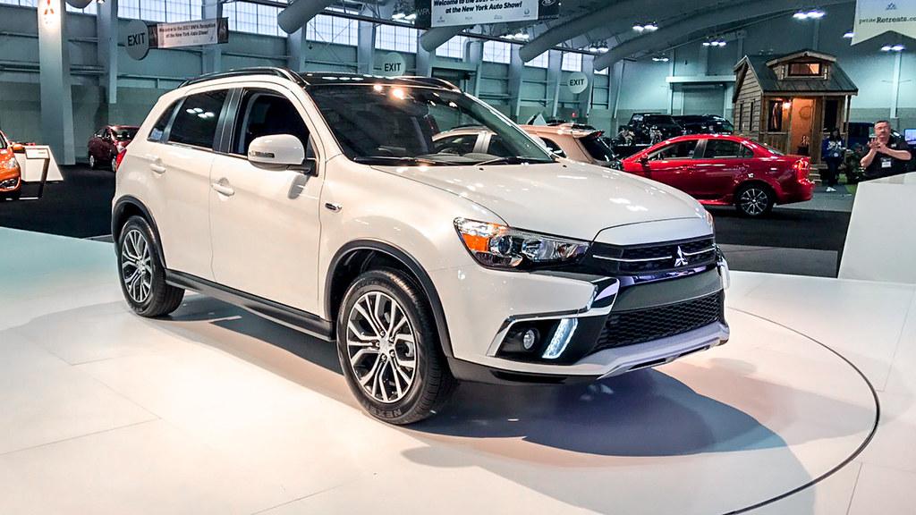 Обновление Mitsubishi ASX