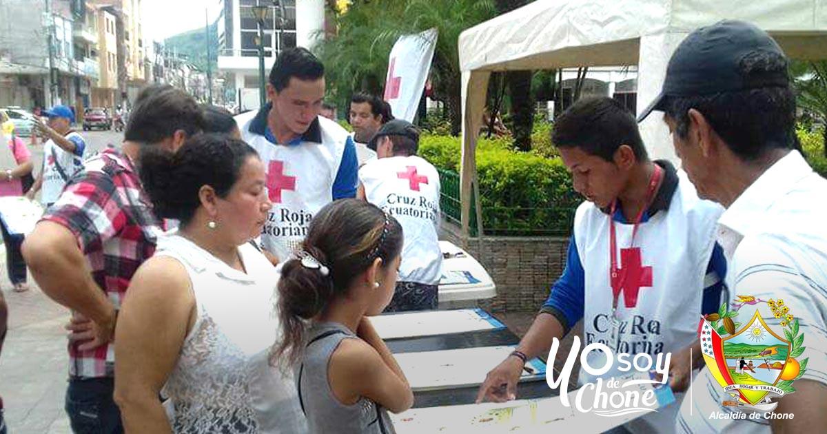 Cruz Roja y la municipalidad iniciaron campaña Plan de Emergencia Familiar