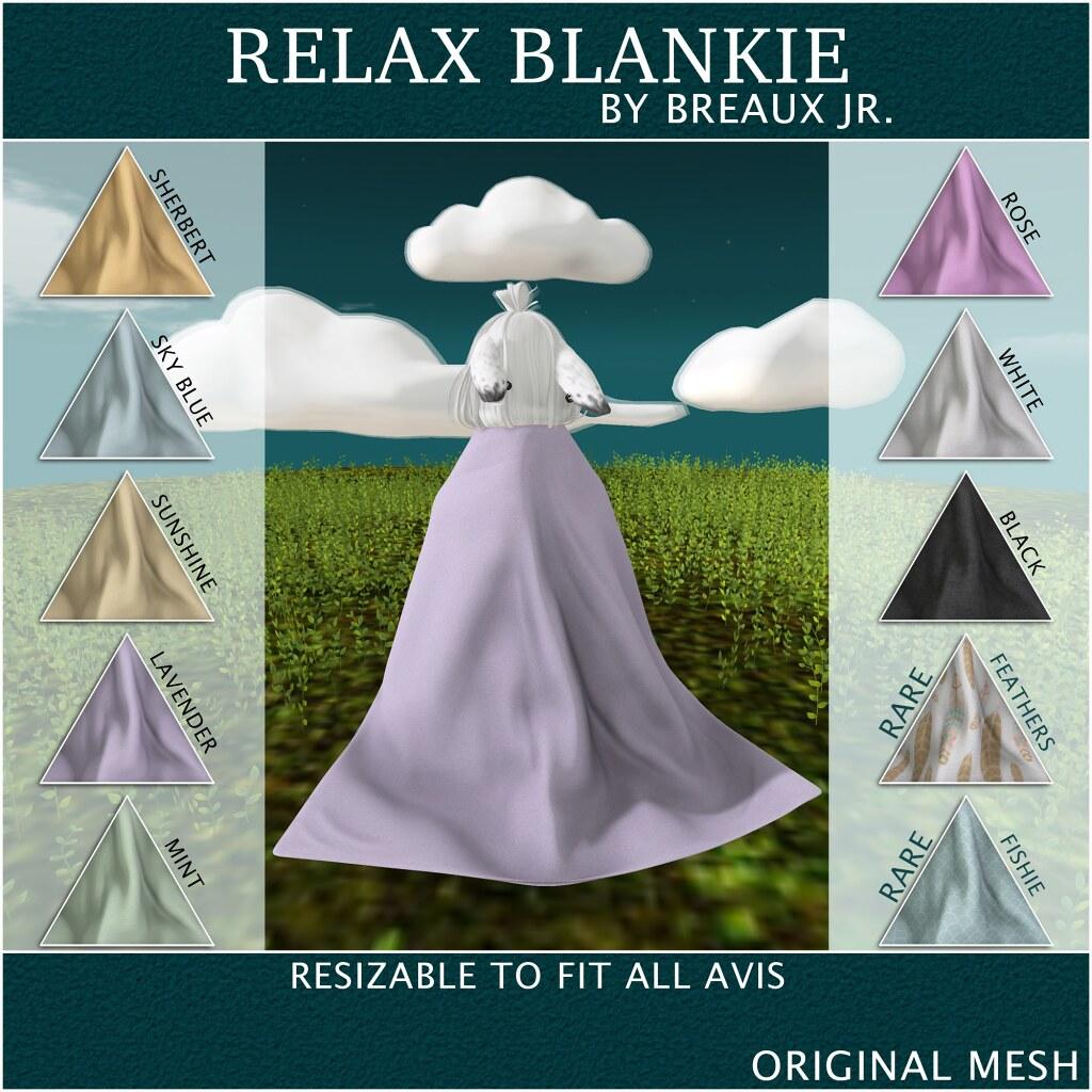 Relax Blankie Gacha - SecondLifeHub.com